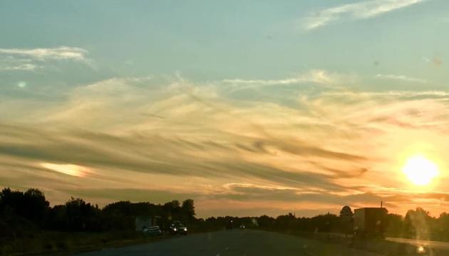 На Полтавщині бачили два сонця