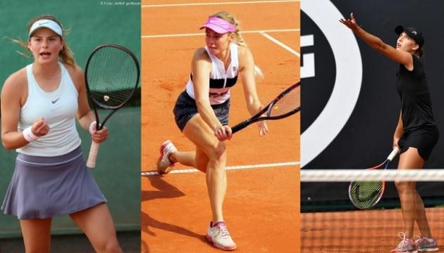 Українські тенісистки встановили особисті рекорди в рейтингу WTA