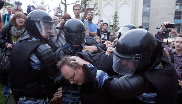 Марш ОМОНовцев наложили на музыку Шостаковича