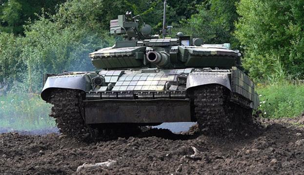 Nawigacja satelitarna i kamery termowizyjne: Lwowskie zakłady pojazdów opancerzonych rozpoczęły modernizację T-64 WIDEO