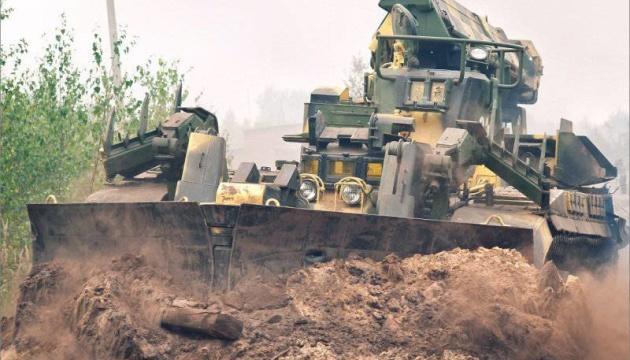 На Донбассе дрон ОБСЕ зафиксировал российскую технику с защитой от ядерного удара