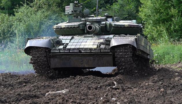 Nevagación por satélite y cámaras termográficas: Modernizan los tanques T-64 en Lviv