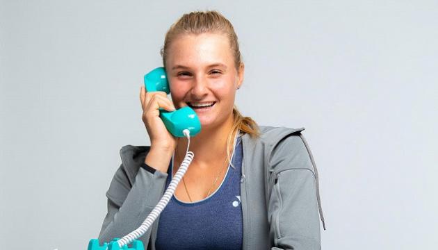 Ястремська взяла участь у зйомках ролику для WTA-туру
