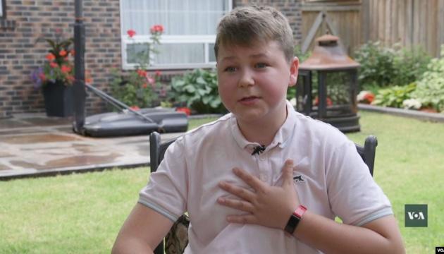 Підліток з Донбасу поділився враженнями від канікул у Канаді