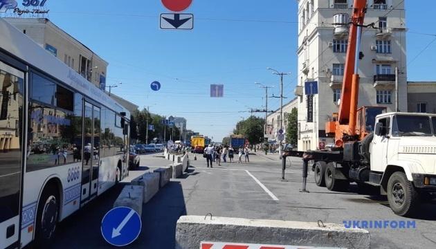 В Запорожье перекрыли два проспекта из-за аварийной канализации