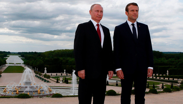 Путин и Макрон обсудят ситуацию в Украине