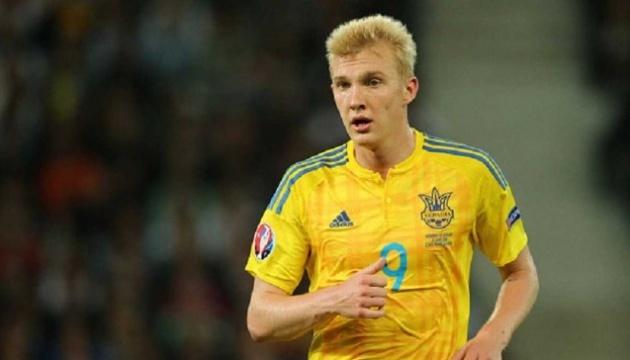 Хавбек сборной Украины по футболу Коваленко приступил к работе с мячом
