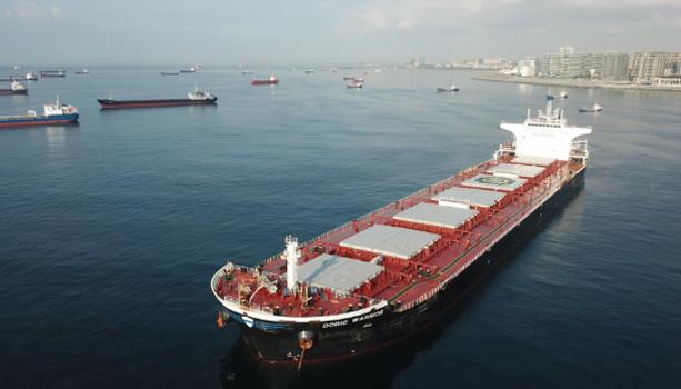 В Мраморном море столкнулись танкер и сухогруз, следовавший в Украину из США