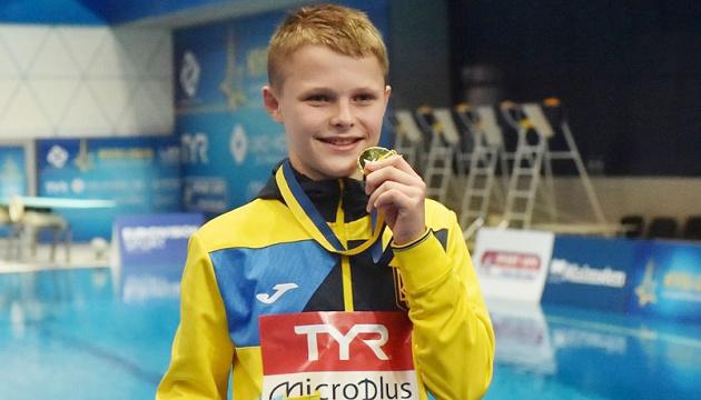 Наймолодший чемпіон Європи зі стрибків у воду Середа досі не усвідомлює, що він феномен