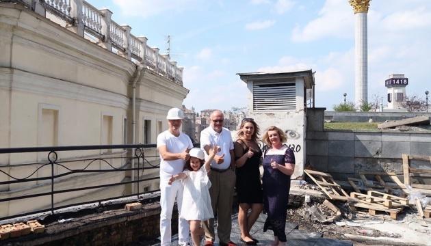 Вперше за шість десятиліть у Києві почався ремонт консерваторії