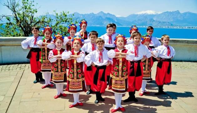 Український танцювальний колектив у Анталії оголошує набір дітей