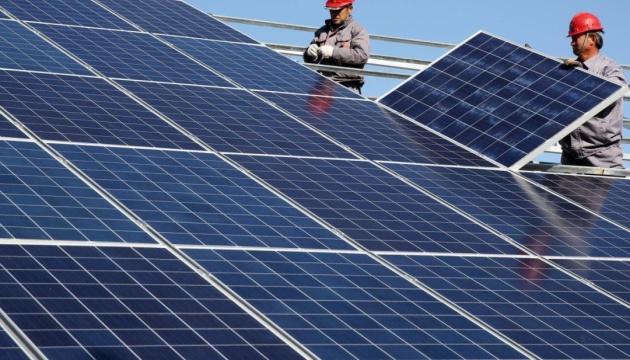 У Вільногірську литовська компанія збудувала унікальну сонячну електростанцію