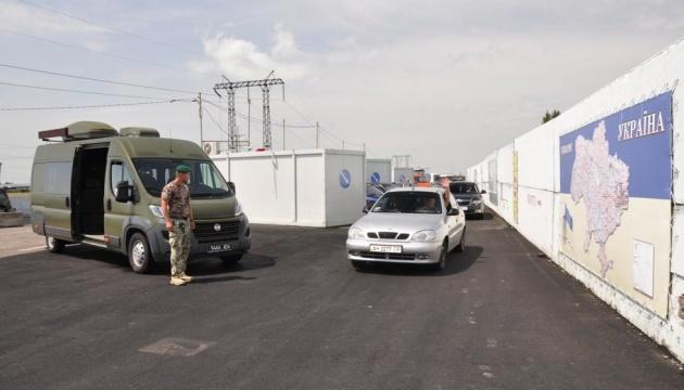 У пунктах пропуску на Донбасі в чергах — 190 авто