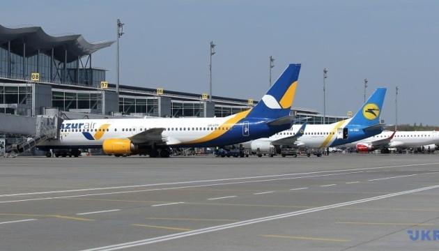 Пасажиропотік «Борисполя» знизився на 65%