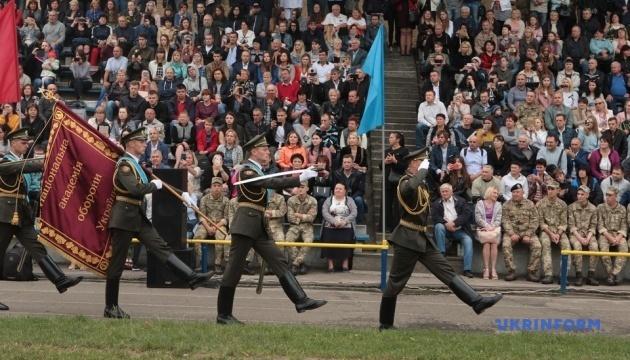 Майже 400 майбутніх офіцерів запасу склали військову присягу в Києві