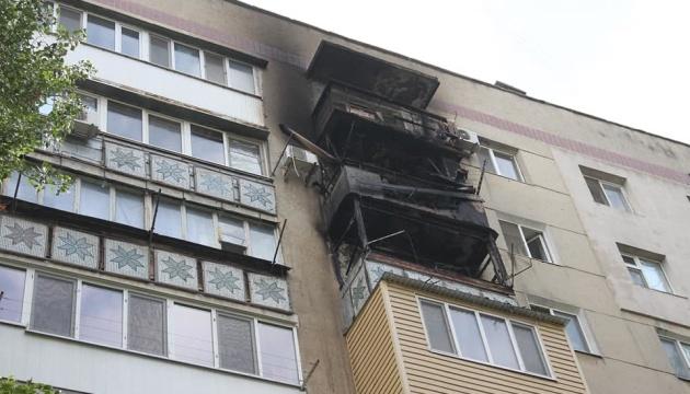В Одессе горела многоэтажка