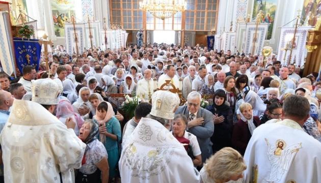 Епіфаній провів богослужіння у Винниках на Львівщині
