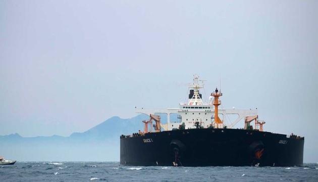 Іранський танкер, який не змогли арештувати США, залишив Гібралтар