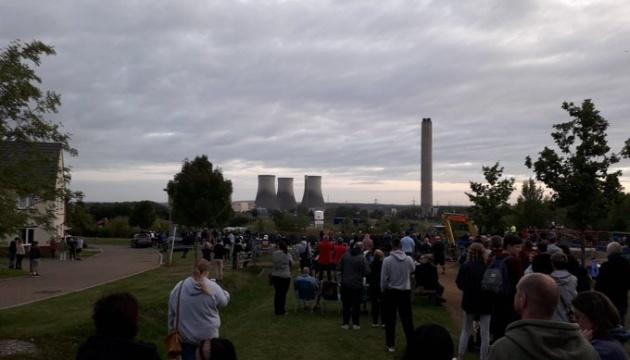 Демонтаж електростанції у Британії залишив без світла понад 40 тисяч будинків