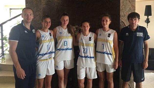 Женская сборная Украины U-23 дошла до финала турнира по баскетболу 3х3 в Бухаресте