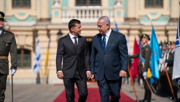 Zelensky: Ucrania e Israel alcanzan un nuevo nivel de cooperación (Fotos)