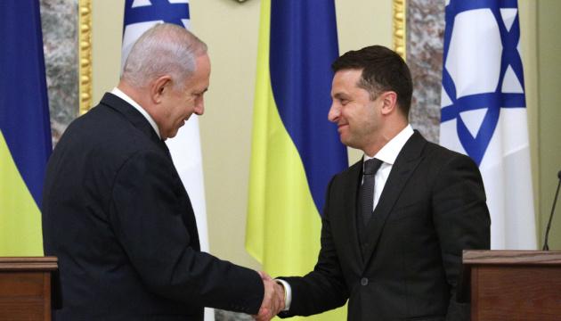 Zelensky, Netanyahu agree to settle problem of Israel's entry denials to Ukrainians