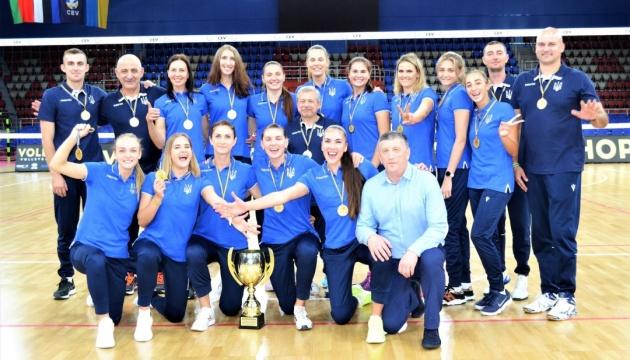 Фізично жіноча збірна України з волейболу готова до чемпіонату Європи - Єгіазаров