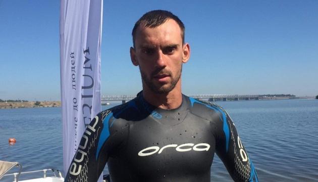 Спортсмен-экстремал, который плывет от Беларуси до Черного моря, прибыл в Черкассы