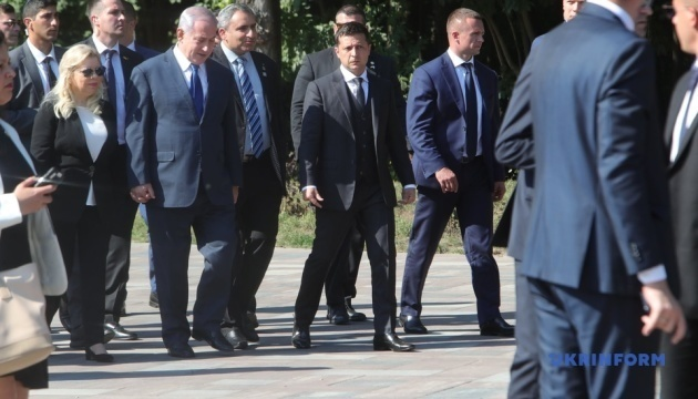 Zelensky and Netanyahu commemorate victims of Babyn Yar tragedy. Photos