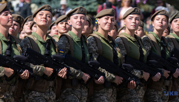 More than 12 thousand women are veterans of war in Donbas