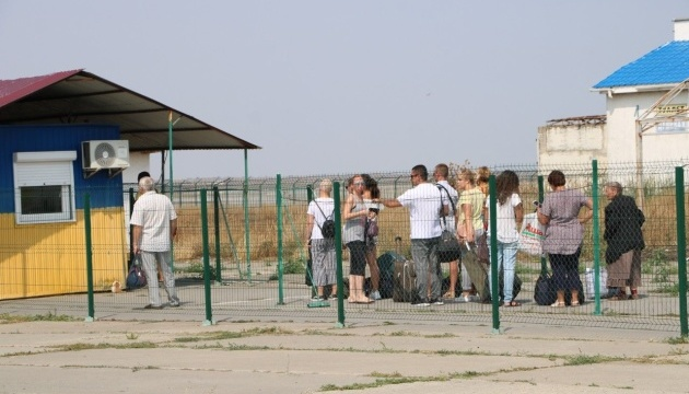 Запуск оновлених КПВВ на адмінмежі з Кримом запланований на 15 листопада