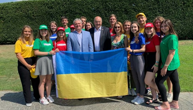 Українська молодь бере участь у Літньому таборі Європейської школи 2019 у Грузії