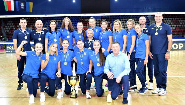 Егиазаров назвал состав женской сборной Украины на волейбольный Евро-2019