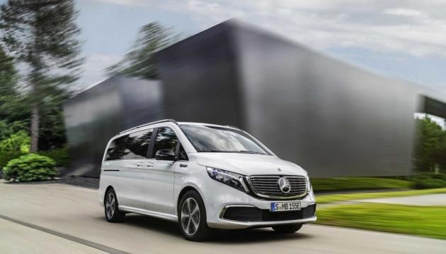 Mercedes-Benz представив перший у світі преміальний електровен