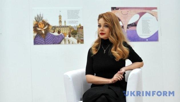 Tina Karol cantará el Himno Nacional de Ucrania durante la Marcha de la Dignidad (Vídeo)