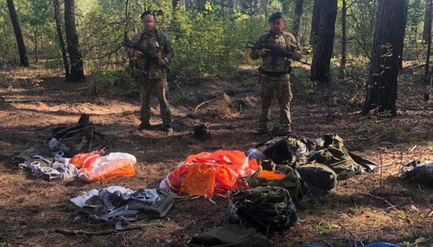 В Україну хотіли переправити парашути з Росії
