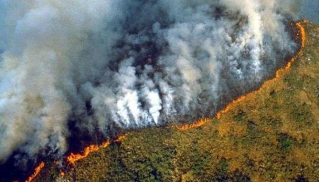 Бразильського міністра екології освистали через пожежі в Амазонському лісі