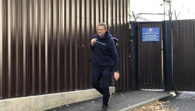 Навальний вийшов на свободу після місячного арешту