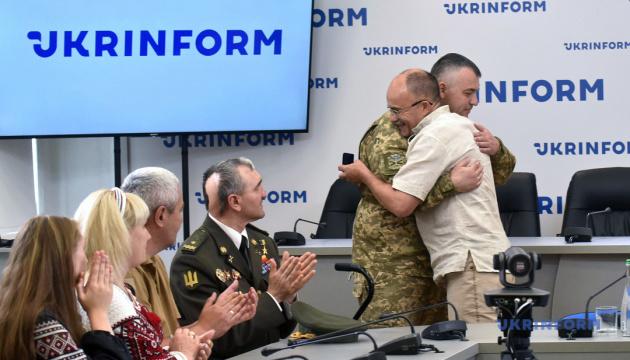 «Сталевий хрест непереможних»: награждение героев Украины