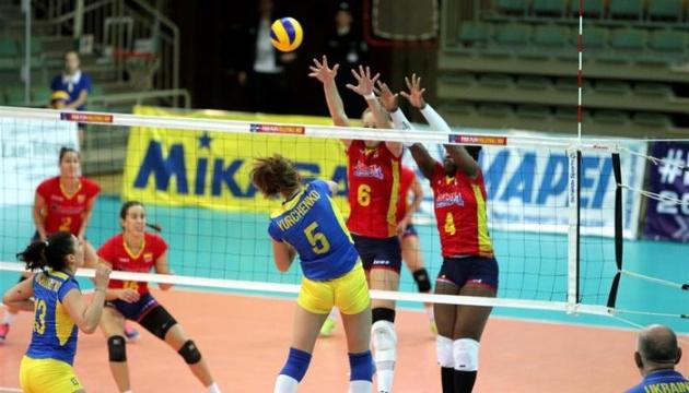 Збірна України програла бельгійкам на старті чемпіонату Європи з волейболу