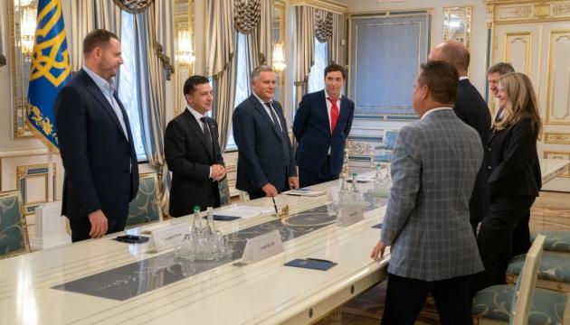 Зеленський подякував керівництву СКУ за підтримку у протидії поверненню Росії до G7