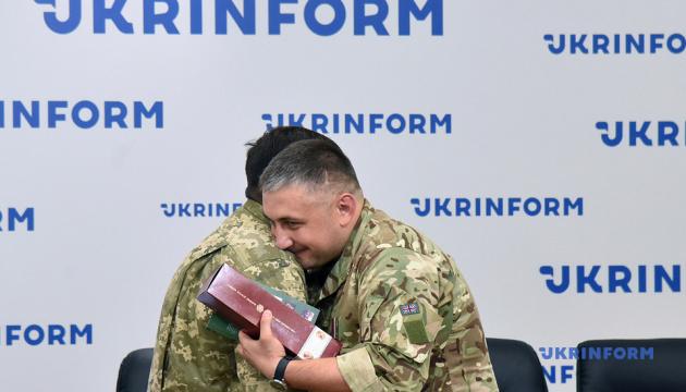 В Укринформе наградили воинов