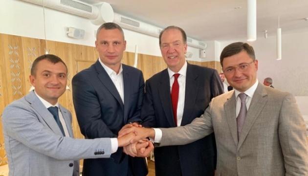 Кличко обговорив з президентом Групи Світового банку питання децентралізації