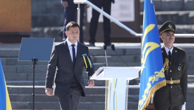 Зеленський про повернення Криму і Донбасу: Голос рідної крові переможе