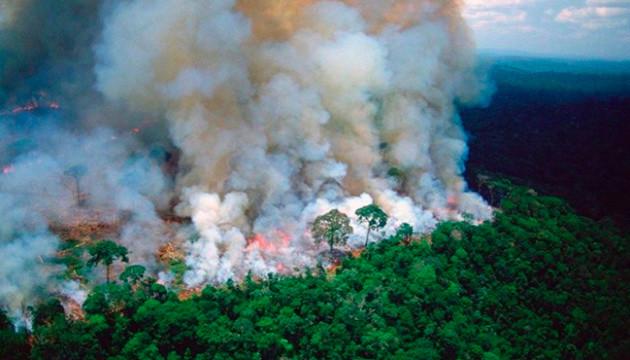 До гасіння лісових пожеж в Амазонії залучають армію