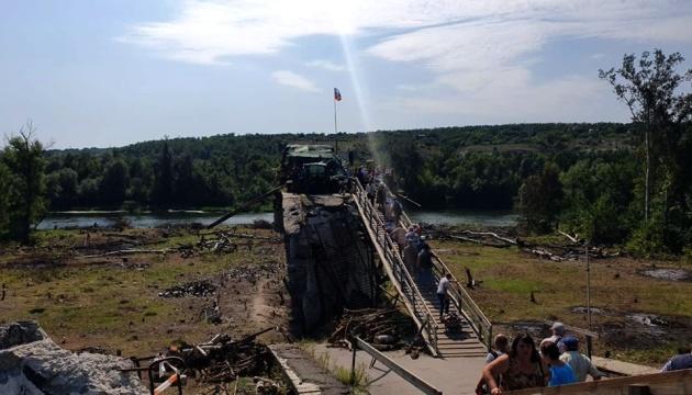 Українська сторона почала демонтаж укріплень у Станиці
