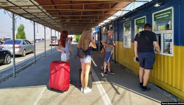 Число граждан на админгранице с Крымом такое же, как и в прошлом году – пограничники