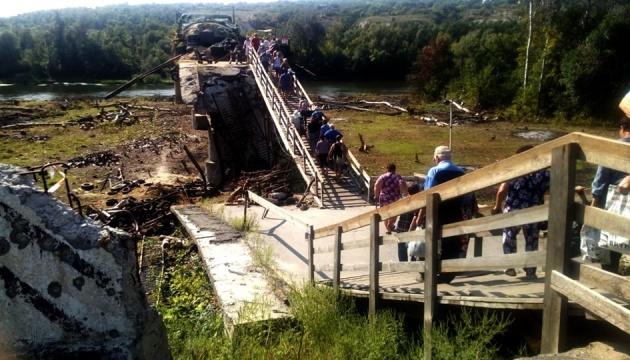 Українська сторона призупинила демонтаж укріплень біля Станиці