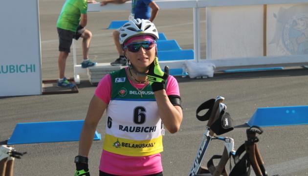 Вита Семеренко стала бронзовым призером чемпионата мира по летнему биатлону