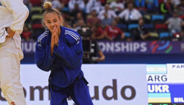 L'Ukrainienne Daria Bilodid est devenue pour la 2e fois championne du monde de judo (photos, vidéo)